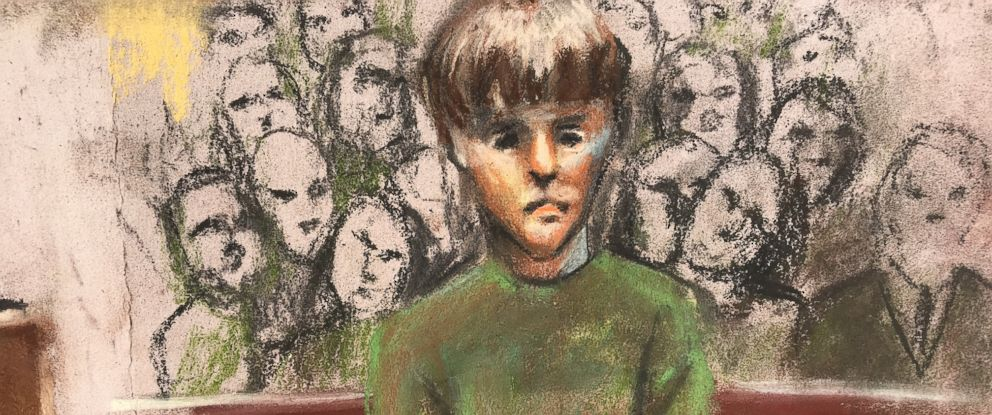 PHOTO: Dylann Roof is depicted during his sentencing hearing in federal court in Charleston, S.C., Jan. 11, 2017.