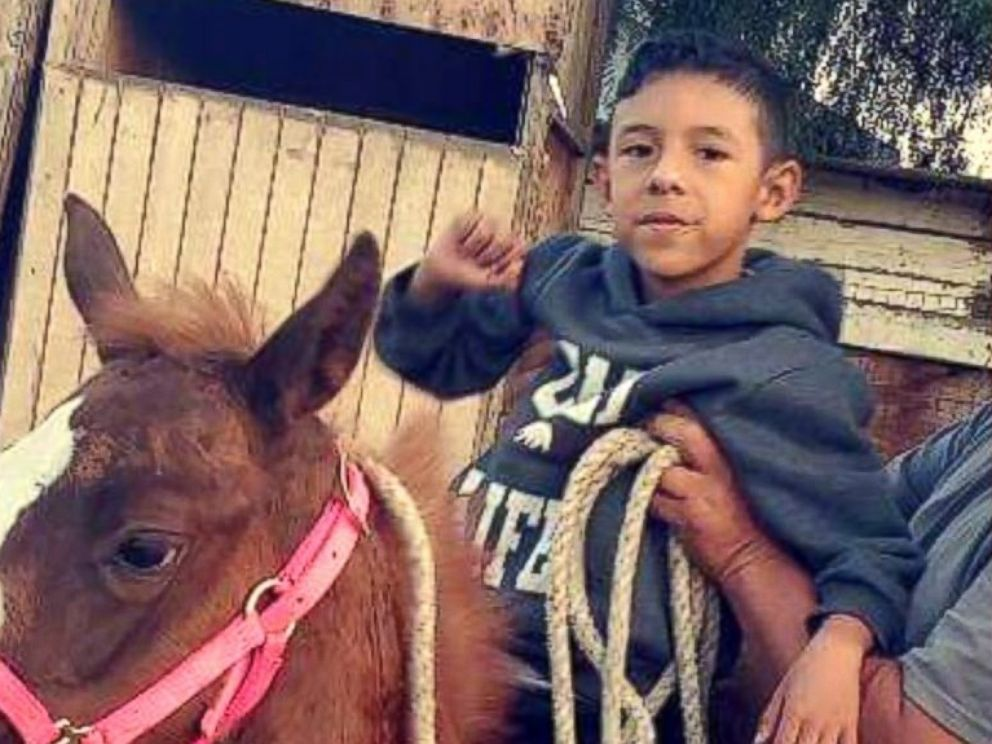 PHOTO: Jonathan Martinez, age 8, died after being shot during a domestic dispute in a classroom at North Park Elementary School in San Bernardino, Calif., on April 10, 2017.
