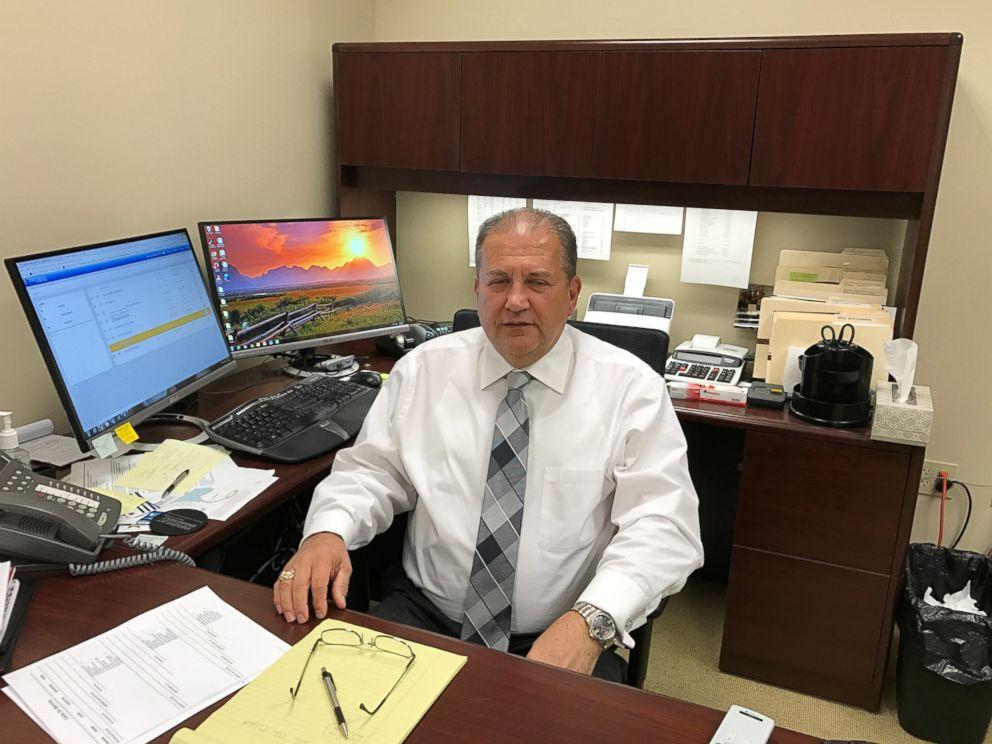 PHOTO: Mike Hartzler, Director of the Greater Cincinnati Fusion Center, Dec. 7, 2016.