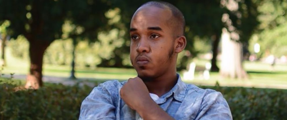 PHOTO: Ohio State University student Abdul Razak Ali Artan, pictured in a 2016 photo from The Lantern, was identified by the schools newspaper as the suspect in a campus attack, Nov. 28, 2016 in Columbus, Ohio.