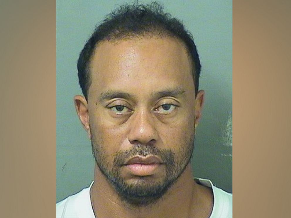 PHOTO: Tiger Woods in his police mugshot, Hobe Sound, Fla., May 29, 2017.