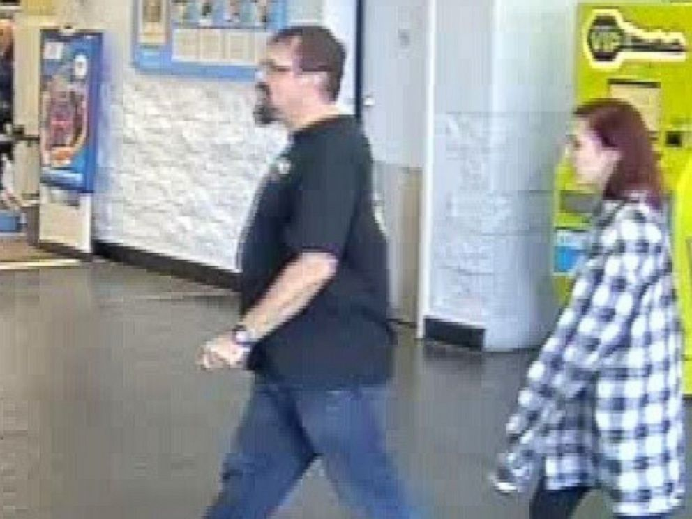 PHOTO: Police obtained surveillance images from a Walmart in Oklahoma City, from March 15, 2017, showing Tad Cummins and Elizabeth Thomas shopping at the store.
