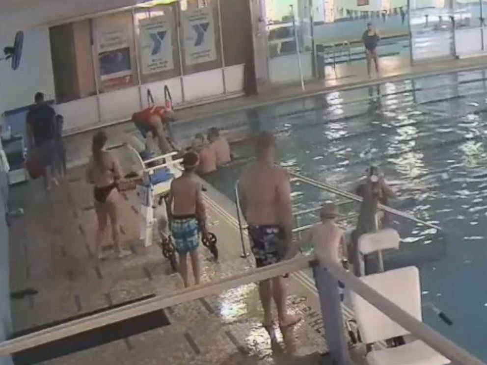 PHOTO: The family of a 61-year-old man is suing the YMCA of Metro Chicago after they said lifeguards ignored him for five minutes while he had a heart attack in the swimming pool.