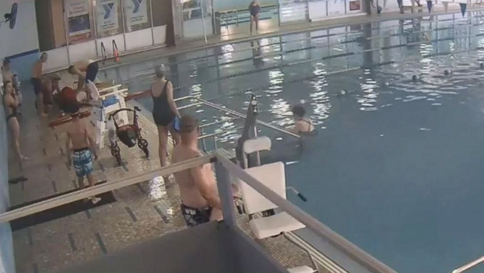 Lifeguards Took Over 5 Minutes To Pull Submerged Swimmer From Pool