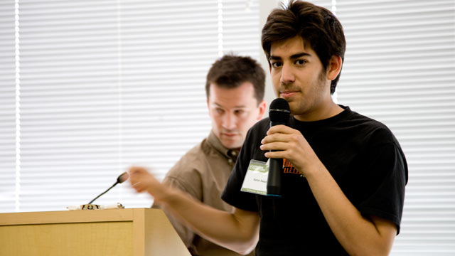 PHOTO: Aaron Swartz is pictured in this file photo.