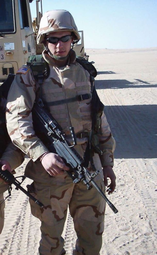 Jeffrey Buchalter said he was hit with multiple IEDs over the course of serving three combat tours in Iraq.