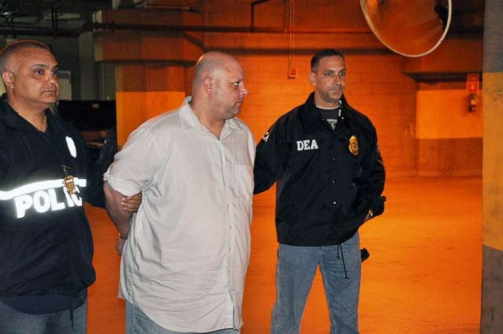 Carmine Vitolo is seen here during his 2014 arrest.