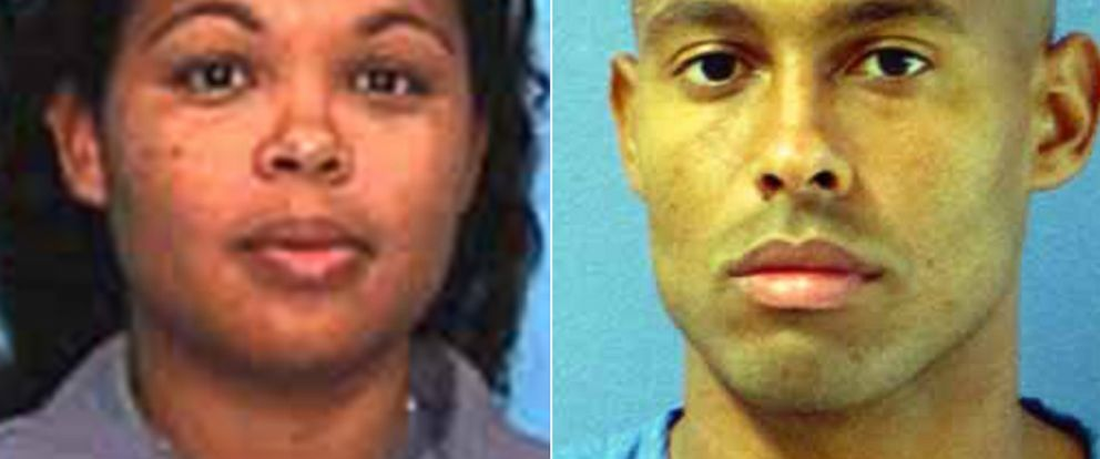 PHOTO: From left, booking photos of Catherine Jones and Curtis Jones provided by the Florida Department of Corrections.