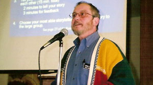 Rev. David Weekley tells his congregation that he was born a girl