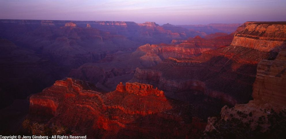 Photographer Jerry Ginsberg captured this photo of the Grand Canyon. See more of his work on his website, www.jerryginsberg.com.
