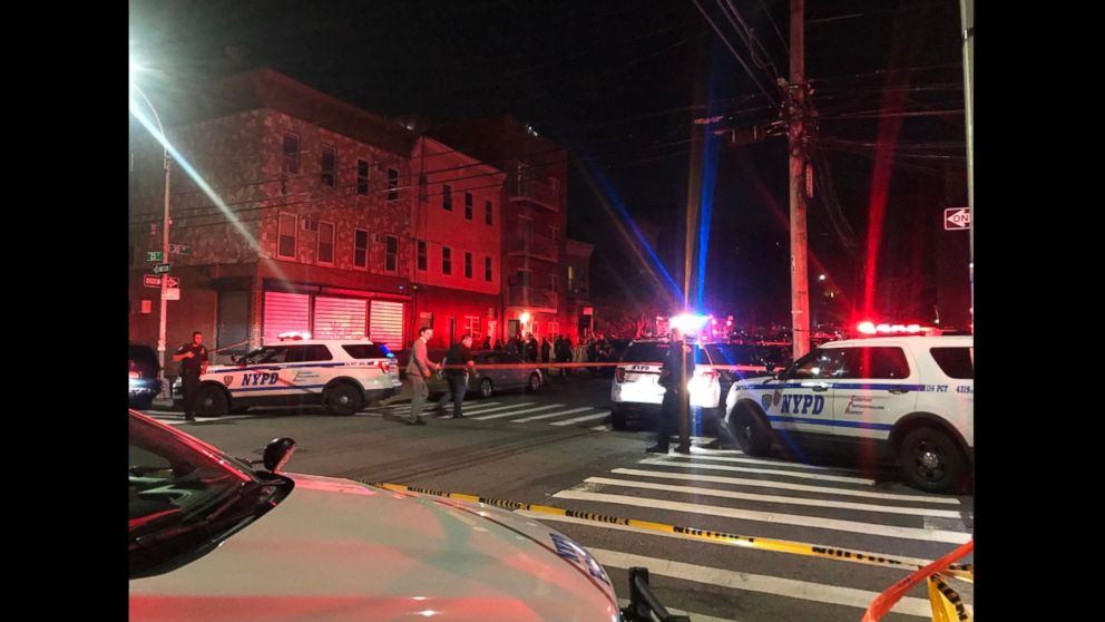 Police are investigating a fatal shooting in New York that left four dead.