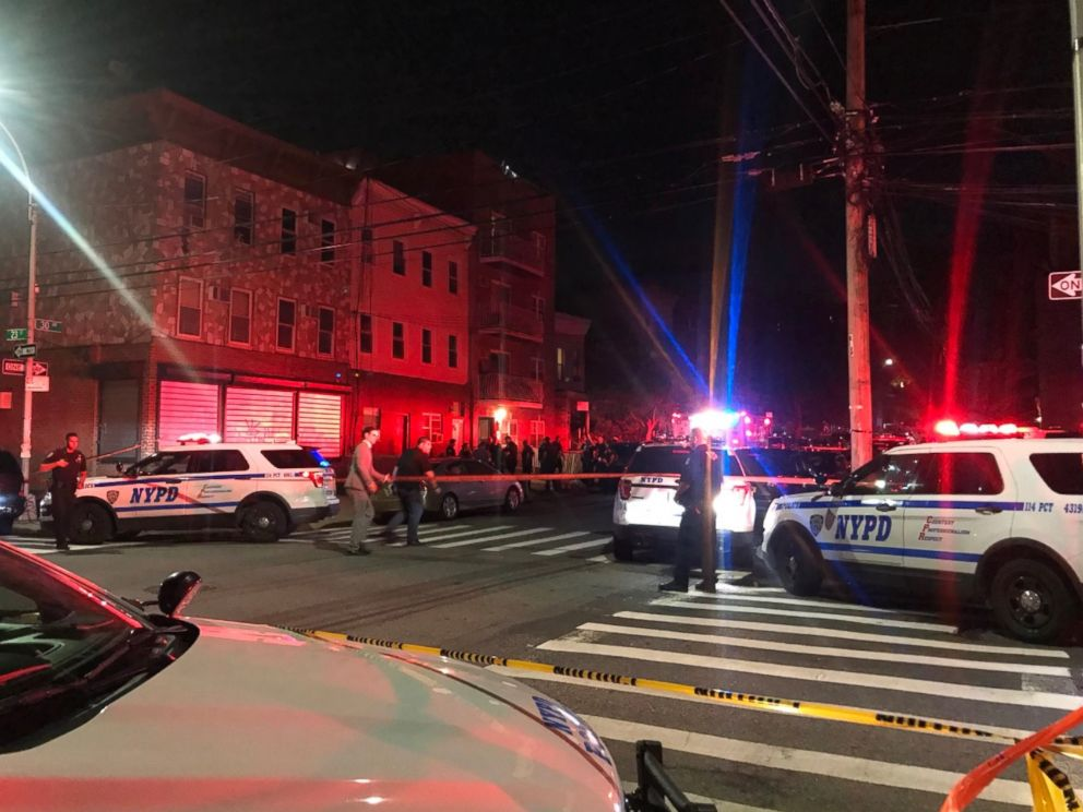 PHOTO: Police are investigating a fatal shooting in New York that left four dead.