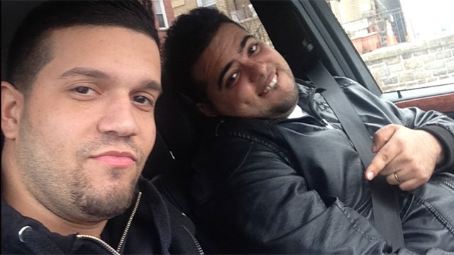 PHOTO: Defendants Rafael Rodriguez,and Emir Yasser Yeje posing with funds shortly after the theft of $45 million worldwide in a matter of hours via fabricated ATM cards.