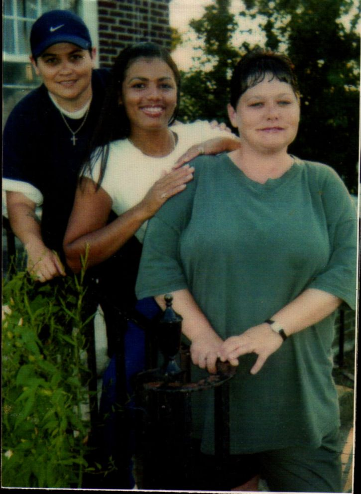 Tyra Patterson (center) is seen here in this undated family photo.
