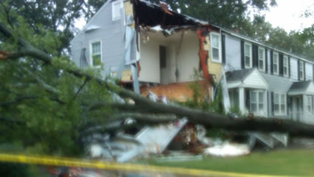 PHOTO: Hurricane Irene: Storm Hits North Carolina, Blamed for Four Deaths