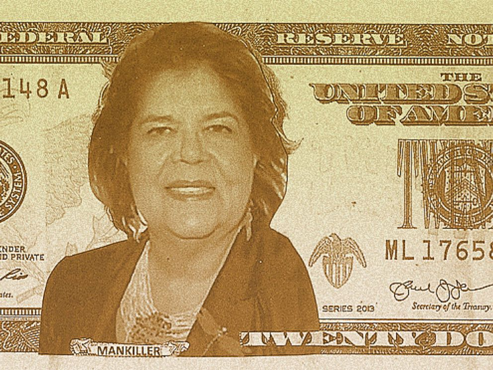 PHOTO: Wilma Mankiller is one of the final four candidates that you can vote for in the Women on 20s campaign.