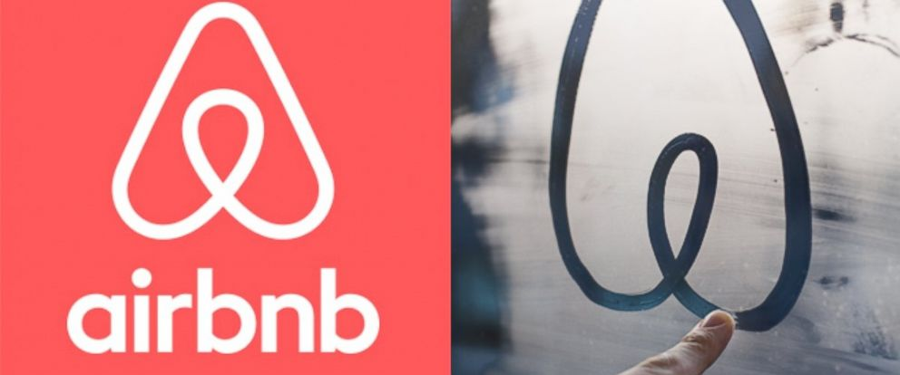 PHOTO: Airbnb recently redesigned their logo.