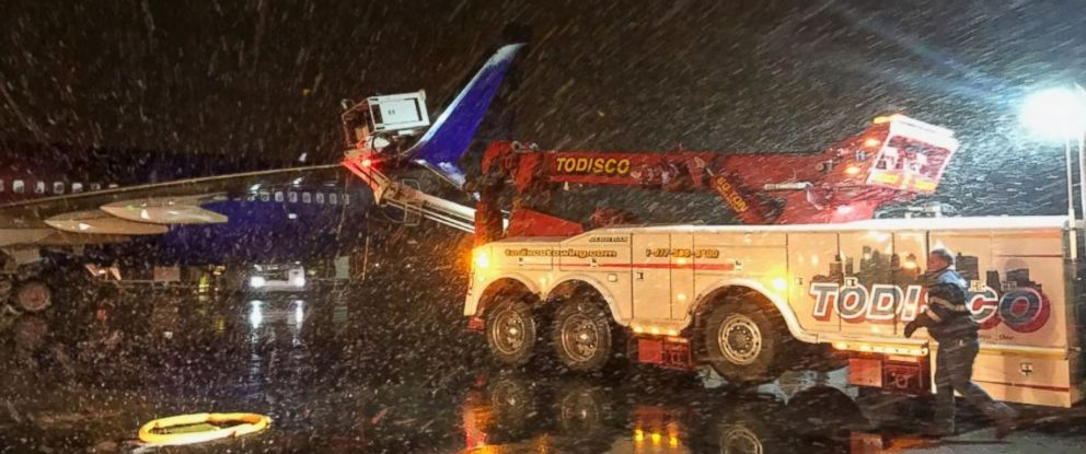 De Icing Truck Collides With Alaska Airlines Aircraft At