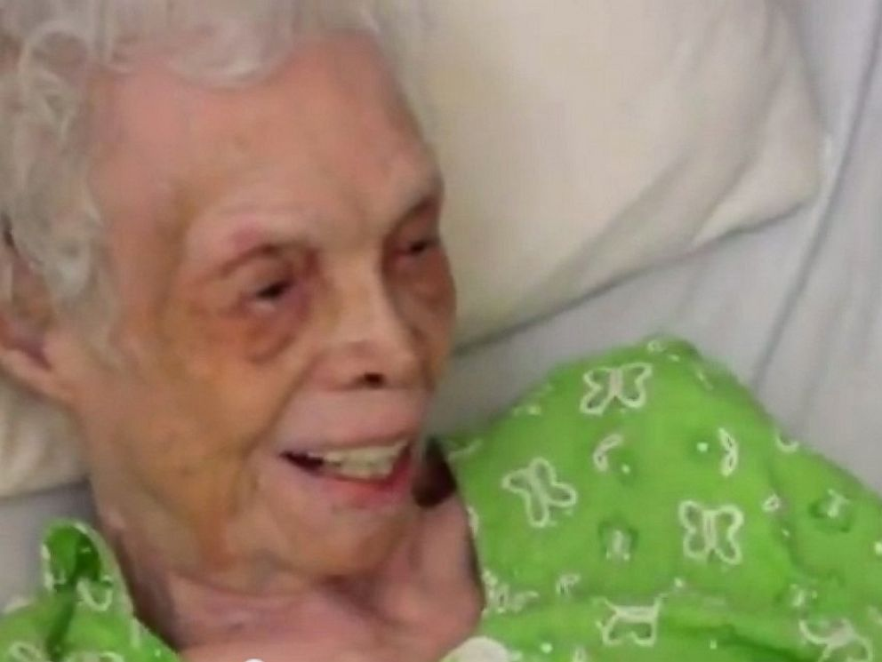 PHOTO: Alice Baker, a 102 year old former dancer, is seen in this video uploaded to YouTube by David Shuff.