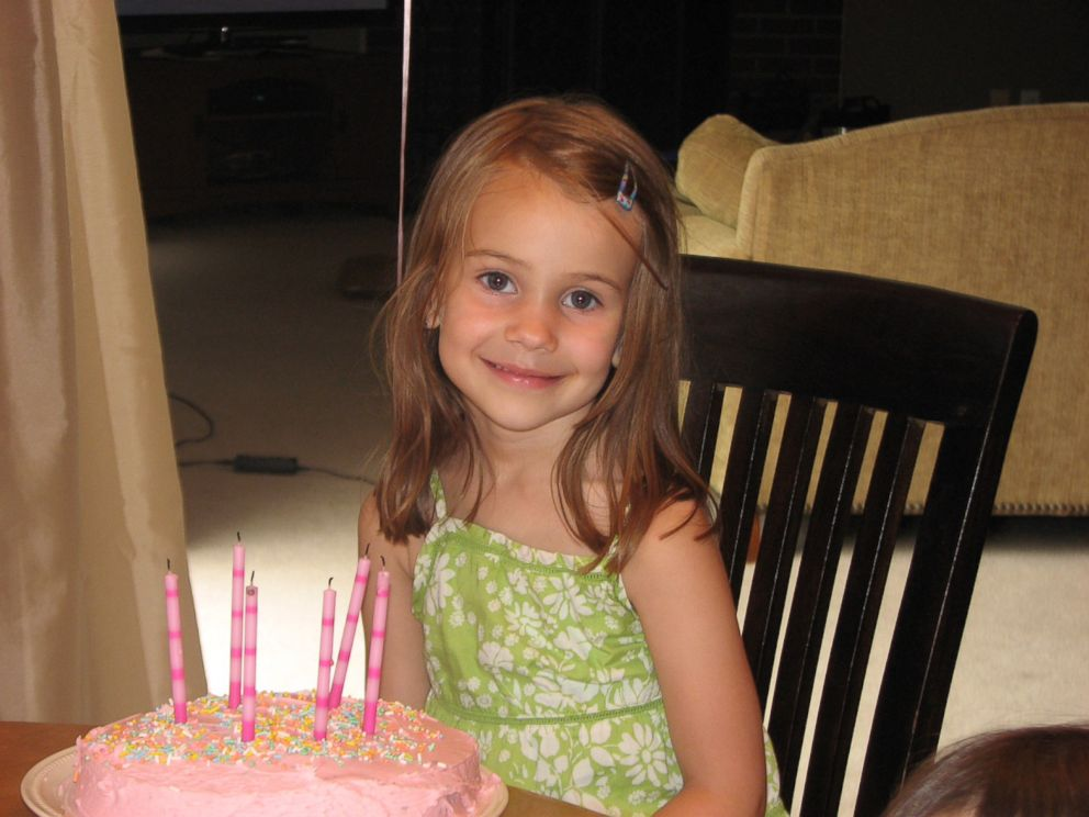 PHOTO: Allison Wyatt is seen in this undated handout photo on her 6th birthday; Allison was killed during a mass shooting at Sandy Hook School in Newtown, Conn. on Dec. 14, 2012.