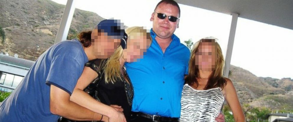 PHOTO: Andrew Getty is pictured in an undated photo with friends in Los Angeles.