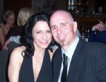 PHOTO: Anthony Hensley, 37, pictured here with his wife, Amy, drowned after after he fell off a kayak into a pond where a swan attacked him in Cook County, IL.