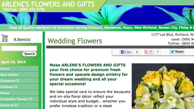 PHOTO: Washingtons attorney general has filed a lawsuit against a florist who allegedly refused to provide wedding flowers to a same-sex couple.