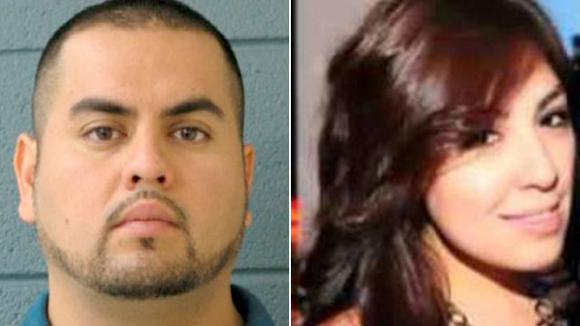 PHOTO: Police are searching for Arnoldo Jimenez, (left), who has not been seen since Estrella Carrera, (right), was found dead in her bathtub May 13, 2012.
