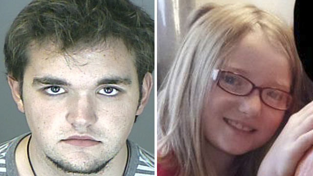 PHOTO: Austin Reed Sigg, left, a student at Arapahoe Community College who was arrested and charged with the murder of Jessica Ridgeway, right.