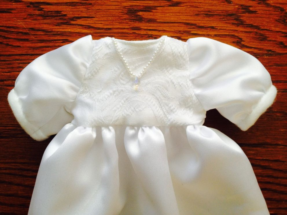 Group Creates Beautiful Burial Gowns for Babies From Donated Wedding ...