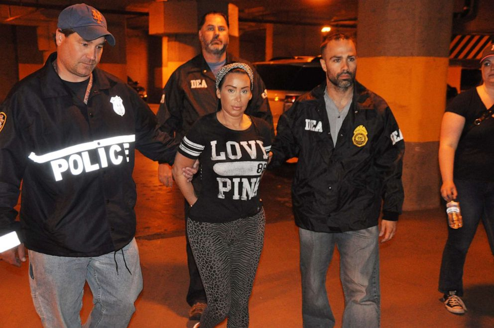 Samantha Barbash is seen here during her 2014 arrest.