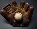 """PHOTO: A Wilson """"Bob Elliott"""" model glove from about 1950, a starter glove for vintage glove collectors."""