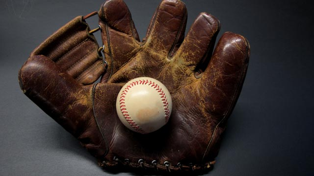 vintage baseball glove collectors hunt for duckweb glove abc news