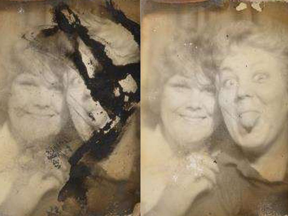 PHOTO: Photo conservation graduate students at the University of Delaware helped restore over 260 fire- and water-damaged photos for an Ohio family who lost three sons and their grandmother in a fire on Dec. 26, 2014.