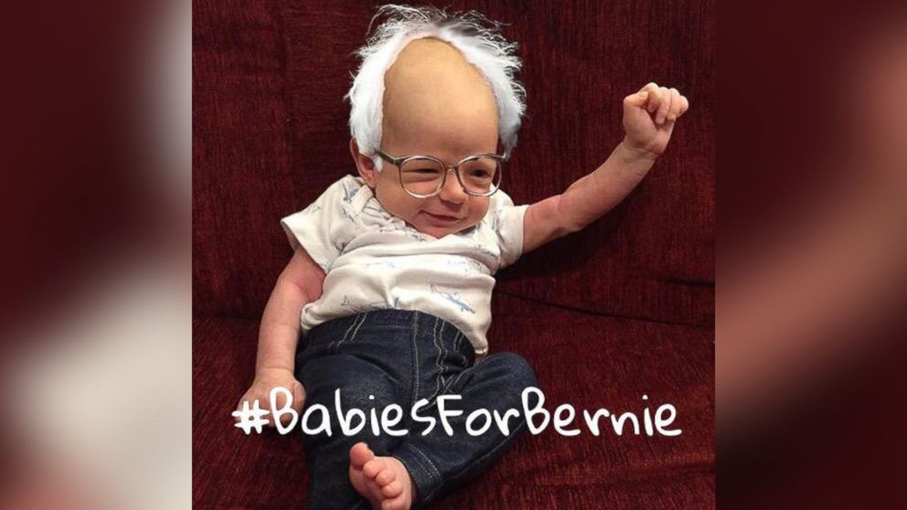 Baby Bernies Are Too Young to Vote, But That's Not Stopping Them From Feeling the Bern