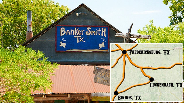 PHOTO: Doug Guller, CEO of ATX Brands, LLC, who owns Bikinis Sports Bar and Grill, a breastaurant chain, purchased the town of Bankersmith, Texas, for an undisclosed sum off Craigslist.