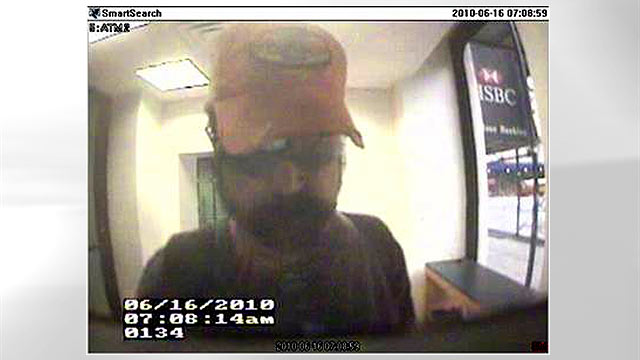 PHOTO: Suspected con man Bobby Thompson was last seen in this security footage from a New York ATM in this June 2010 file photo.