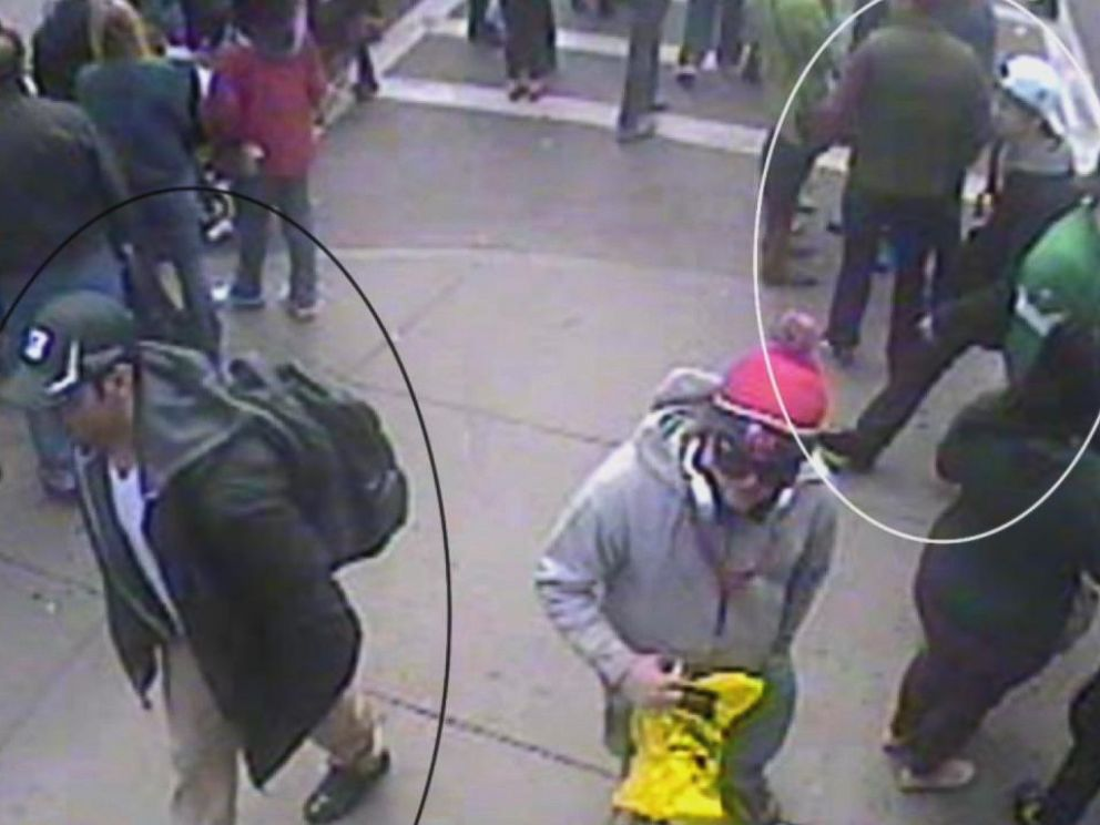 PHOTO: Surveillance footage from Whiskeys Smokehouse in Boston first showed 2013 Boston Marathon bombers together.