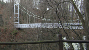 PHOTO In the last month, three male students have leapt or fallen from bridges that span the gorges, some of which plunge 200-feet deep. One death was ruled a suicide and two others are still being investigated.