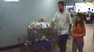 Photo: Surveillance video of Brittany Smith and Jeff Easley