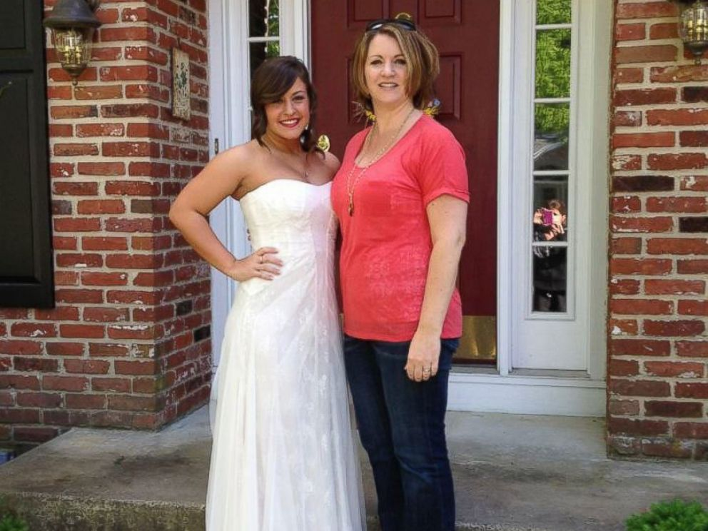 PHOTO: Maura McGarvey and her daughter Caitlyn Ricci during happier times.