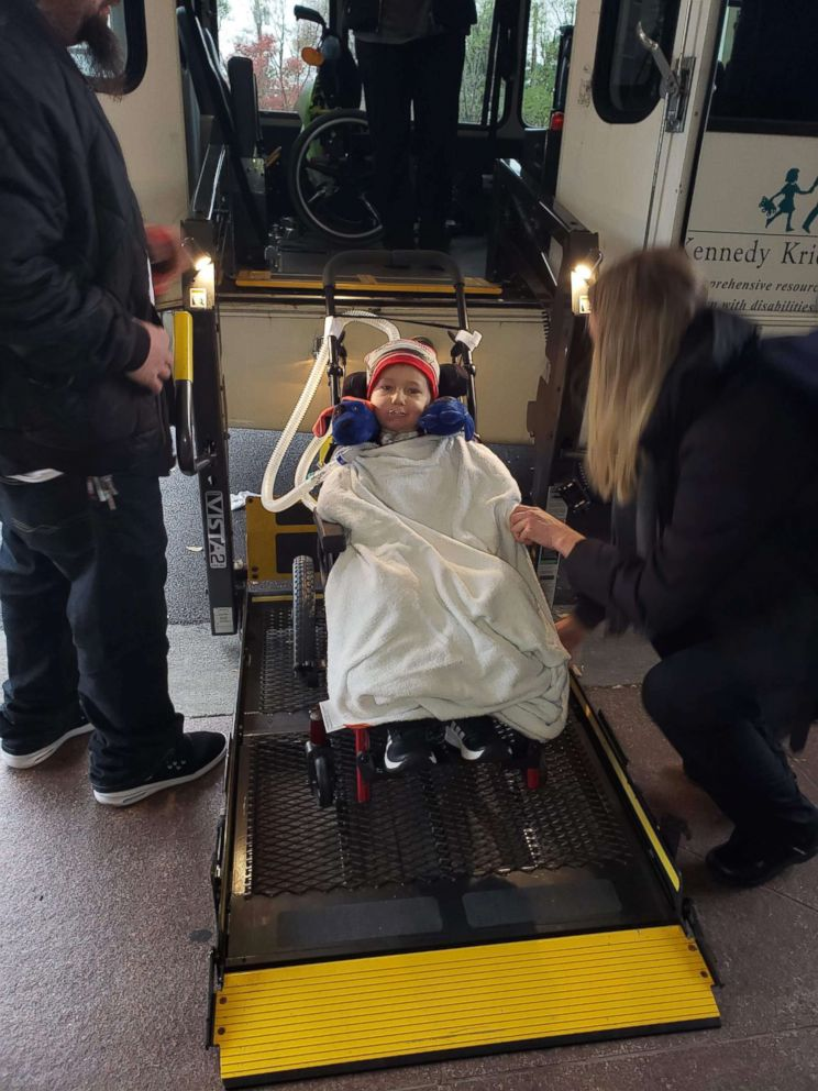 Camdyn Carr, who suffers from Acute Flaccid Myelitis or AFM, has been at the Kennedy Krieger Institute fighting for his life.