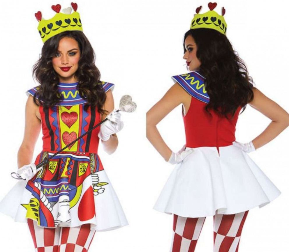 Card Queen is another costume Yandy points to as an example of one of their more covered up options.