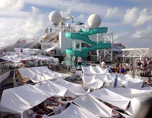 Celebrity cruise line ads security