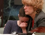 PHOTO:Casey Anthony is comforted by her attorney Dorothy Clay Sims during Anthonys murder trial, June 10, 2011.