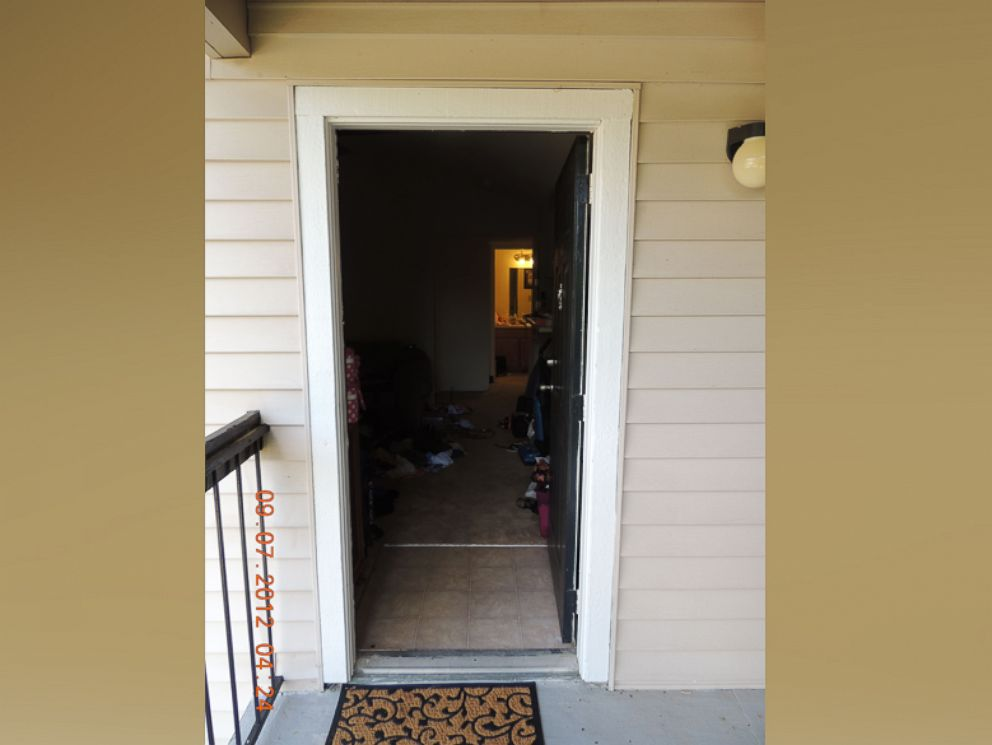PHOTO: The Path To The Bedroom In The Apartment Where Faith Hedgepeth Was  Found Murdered Chapel Hill Police Department