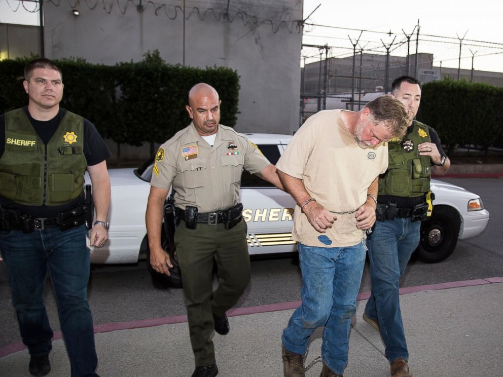 PHOTO: Charles Ray Merritt was arrested on Nov. 5, 2014 by the San Bernadino Sheriffs Dept. for his involvement in the murders of he McStay family in 2010.