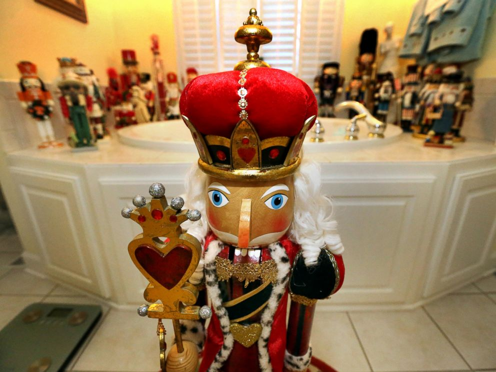 PHOTO: They also have a collection of nutcrackers on display.