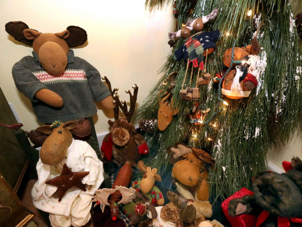 PHOTO: There is one tree devoted entirely to moose.
