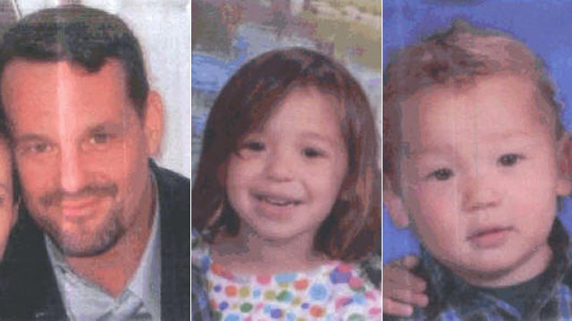 PHOTO: (L-R) Christopher Maffei and his two children Brooklyn and Devin are seen in these photos provided by South San Francisco Police Department.